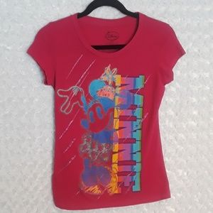 "Womens Disney ""Minnie"" t-shirt hot pink"